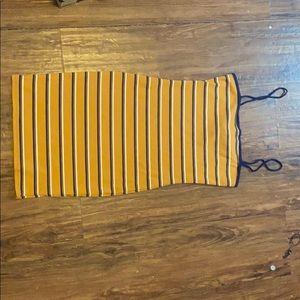 Forever 21 mini dress striped